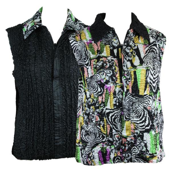Quilted Reversible Vests #14013 - S-L