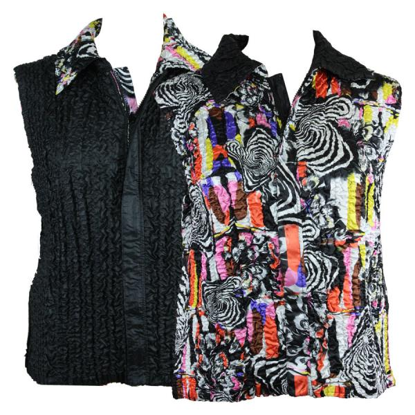 Quilted Reversible Vests #14014 - S-L