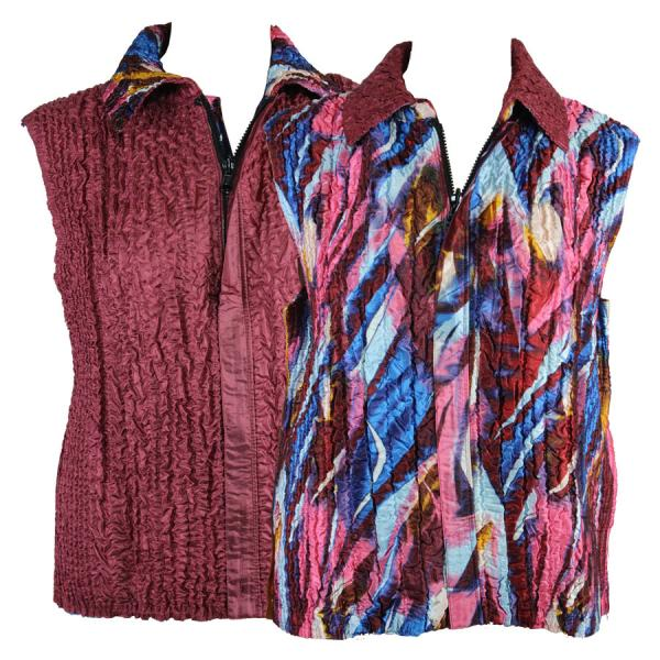 Quilted Reversible Vests #14015 - S-L