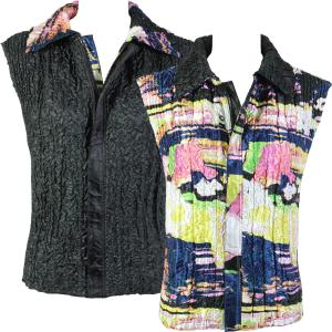 Quilted Reversible Vests #5808 - S-L