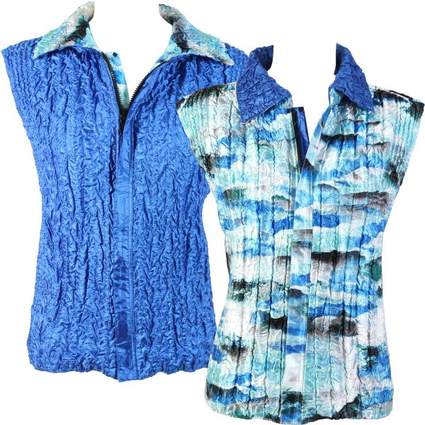 Quilted Reversible Vests #5407 - S-L