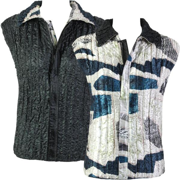 Quilted Reversible Vests #5788 - S-L