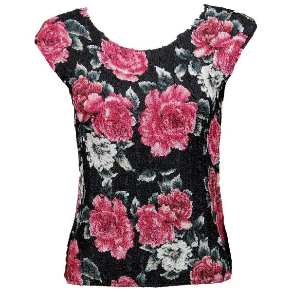 wholesale Ultra Light Crush Silky Touch - Cap Sleeve* Pink Floral - One Size Fits (S-L)