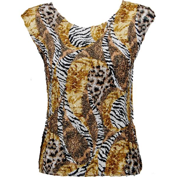 wholesale Ultra Light Crush Silky Touch - Cap Sleeve* Safari Gold - One Size Fits (S-L)