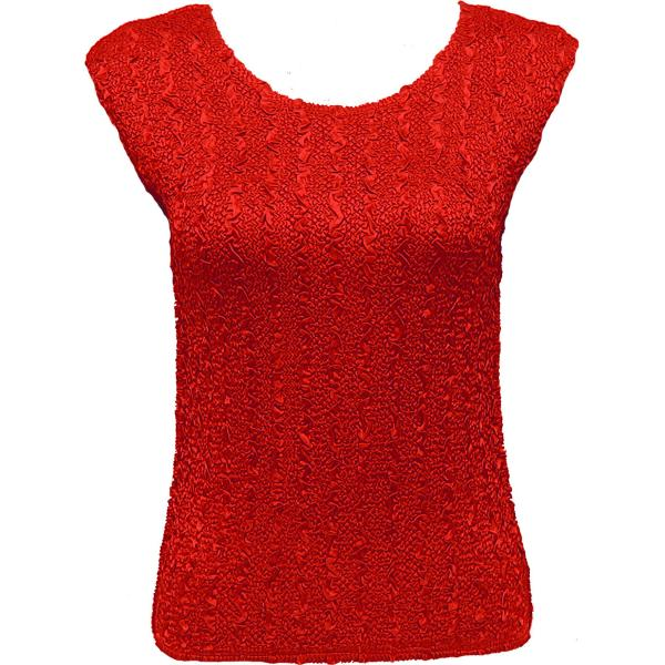 wholesale Ultra Light Crush Silky Touch - Cap Sleeve* Solid Red - One Size Fits (S-L)