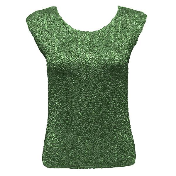 wholesale Ultra Light Crush Silky Touch - Cap Sleeve* Solid Green - One Size Fits (S-L)