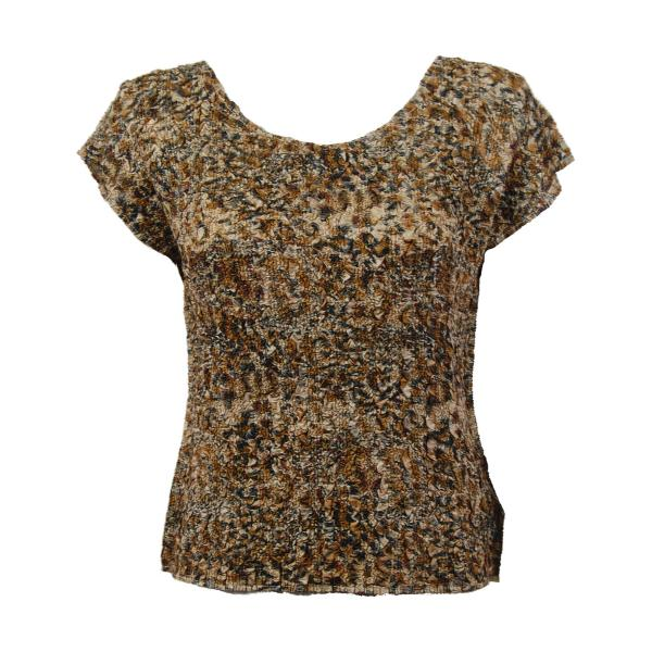 wholesale Ultra Light Crush Silky Touch - Cap Sleeve* Leopard - One Size Fits (S-L)
