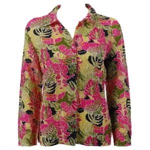 Wholesale Ultra Light Crush Silky Touch - Blouse*  Tropical Heat - One Size (S-L)