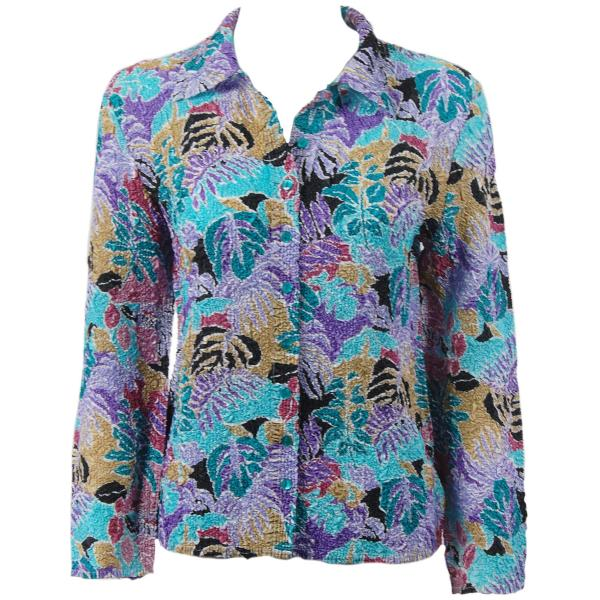 Wholesale Ultra Light Crush Silky Touch - Blouse*  Tropical Breeze - Plus Size Fits (XL-2X)