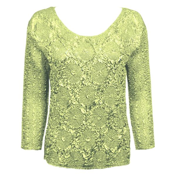 wholesale Magic Crush Diamond Three Quarter  Celery - One Size Fits (S-L)