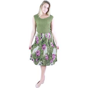 Skirts<br>Georgette Mini Pleat<br>Calf Length<br>One Size (S-L)