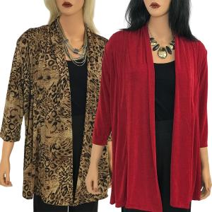 Slinky TravelWear Jacket<br>One Size (S-L)<br>Plus Size (XL-2X)