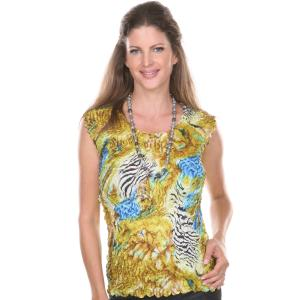 Petal Shirts<br>Sleeveless<br>One Size (S-XL)<br>Queen Size (XL-3X)