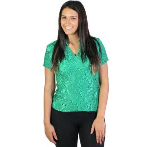 Wholesale Magic Crush Diamond<br>Short Sleeve w/ Collar<br>One Size (S-L)