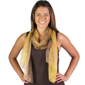 Wholesale Oblong Scarves<br>Silk Ombre<br>005