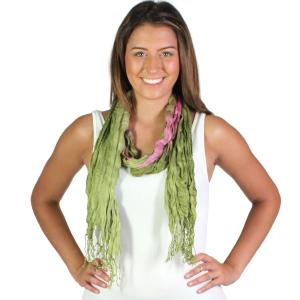 Wholesale Oblong Scarves<br>Crinkled Watercolors<br>22