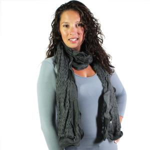 Oblong Scarves<br>Scalloped Edge Mohair Style<br>4069