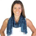 Oblong Scarves - Glitz Sequined 4120 & 4121*
