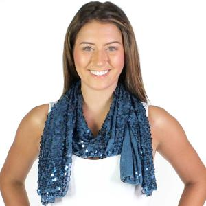 Wholesale Oblong Scarves<br>Glitz Sequined<br>4120 & 4121