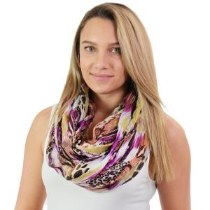 Wholesale Infinity Scarves Wide<br>Snake Print<br>3062