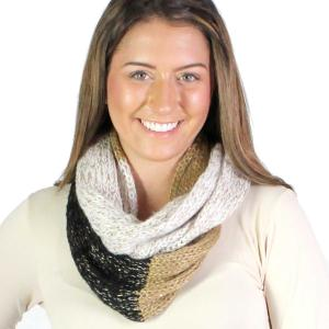 Wholesale Infinity Scarves<br>Knit Sequined<br>4308
