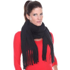 Wholesale Oblong Scarves<br>Crochet<br>4329
