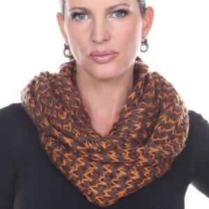 Wholesale Infinity Scarves<br>Jagged Stripe<br>4326