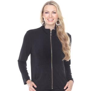 Wholesale Slinky Travel Zipper Jacket<br>One Size (S-L)<br>Plus Size (XL-2X)