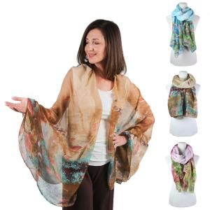 Wholesale Big Scarves/Shawls<br>Fish<br>976