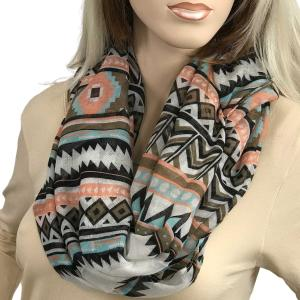 Wholesale Infinity Scarves Wide<br>Aztec Chevron<br>3726