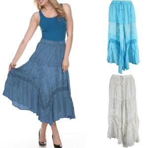 Skirts<br>Chic Linen & Lace<br>80154
