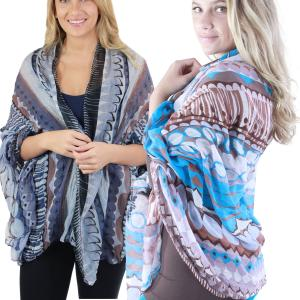 Big Scarves/Shawls<br>Geometric Designs<br>1043