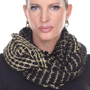 Wholesale Infinity Scarves<br>Metallic Thread<br>164