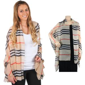 Wholesale Big Scarves/Shawls<br>Striped<br>1169