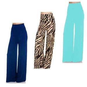Wholesale Palazzo Pants<br>Four Sizes: S, M, L, & XL