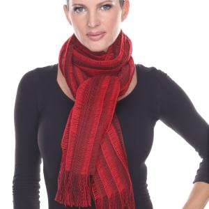 Oblong Scarves<br>Knitted Stripes<br>1120
