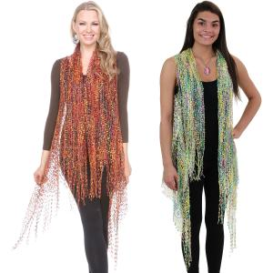 Wholesale Confetti Vests<br>with Lurex Sparkle