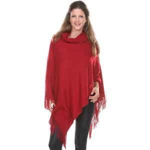 Wholesale Poncho<br>Cowl Neck<br>8119