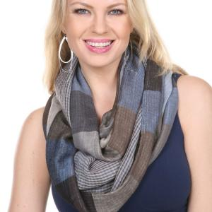 Infinity Scarves<br>Plaid<br>7339