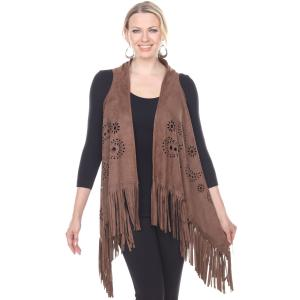 Wholesale Faux Suede Vests