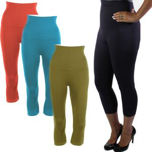 Wholesale Magic SmoothWear<br>Tummy Control<br>Capri Leggings
