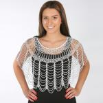 Beaded Evening Poncho