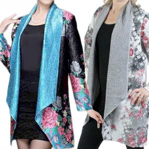 Wholesale Art Crush Cardigan<br>Prints<br>Woman Size