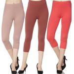 Brushed Fiber Leggings-Capri Length Solids SOL0C