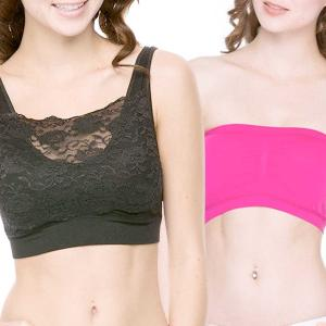 Wholesale Seamless Bras and Tube Tops