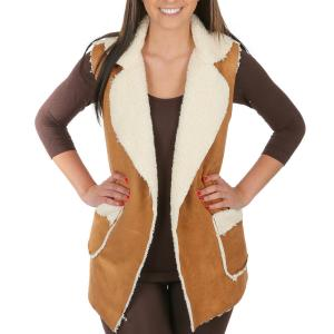 Vests<br>Faux Shearling w/ Pocket<br>8870