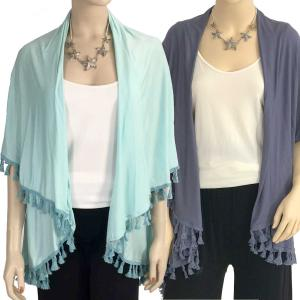 Wholesale Vests<br>Solid w/ Tassels<br>511