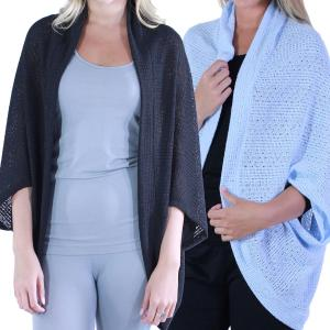 Light Weight<br>Crochet Shrugs<br>8891