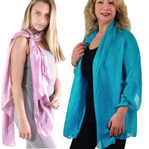 Wholesale Oblong Scarves<br>Silk Essense w/ Scarf Ring<br>8082