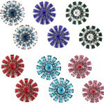 Magnetic Brooches Starburst Design - Double Sided